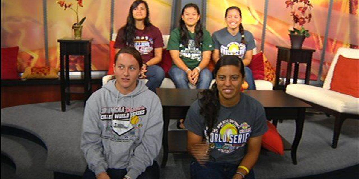 UH Wahine softball team talk World Series experience