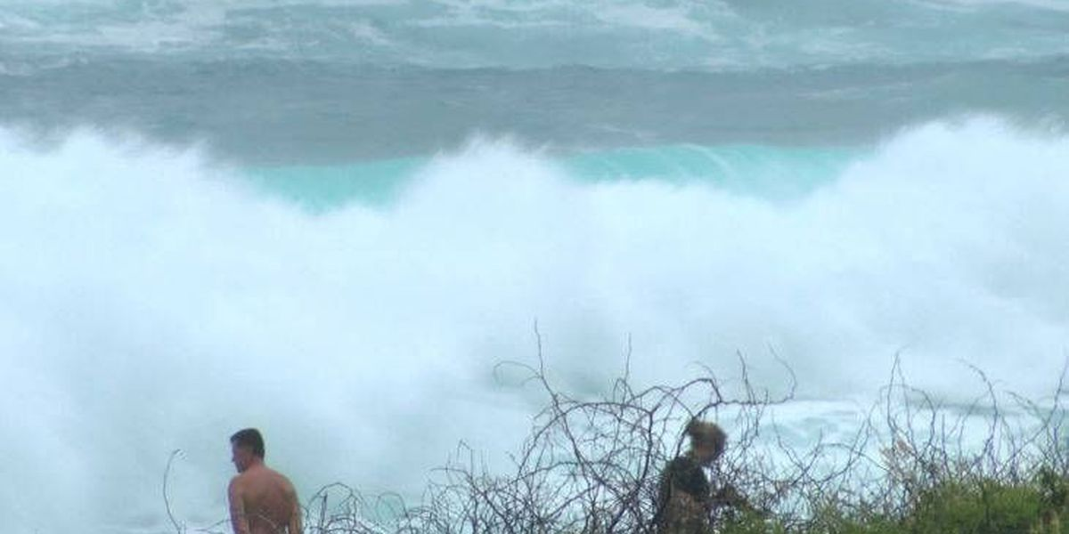 High Surf Advisory posted for east-facing shores