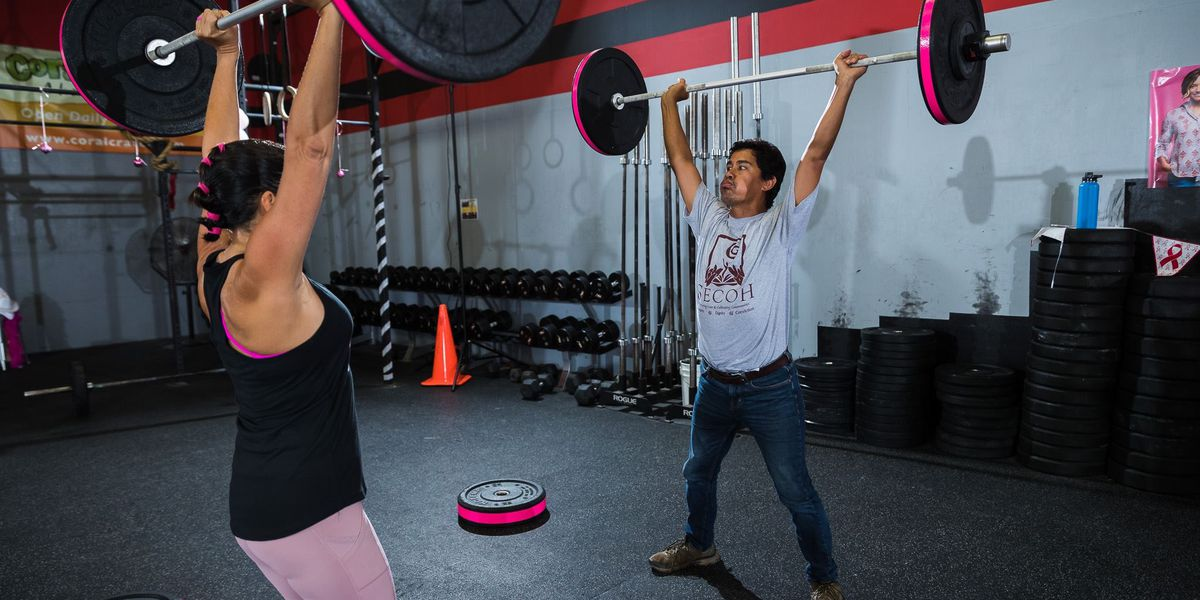 In Kapolei, Adaptive Crossfitters do the heavy lifting