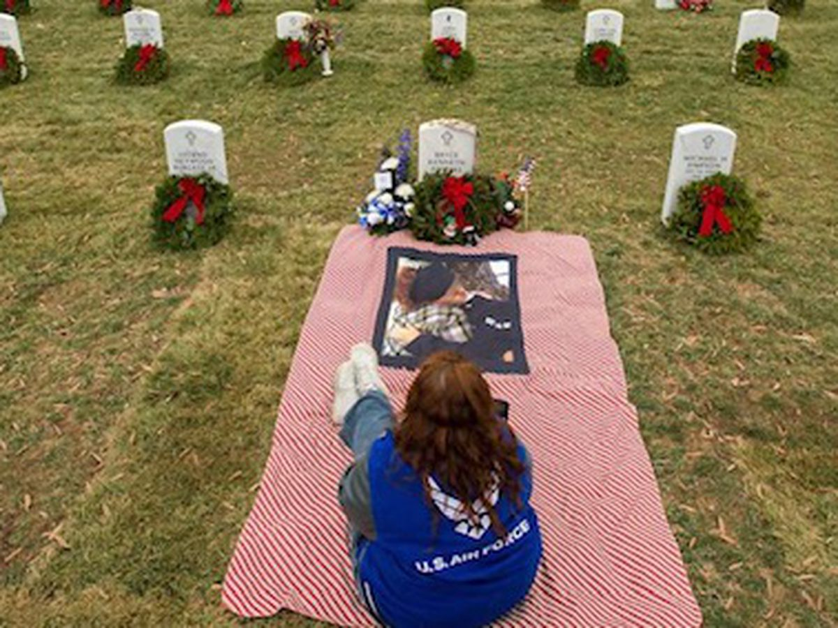 Mother of late Air Force airman running 1,000 miles for Wreaths Across America