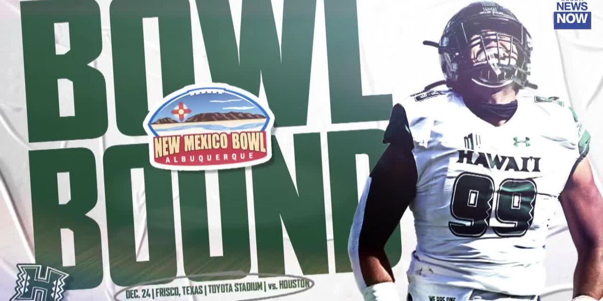 Rainbow Warriors set to face Houston in the New Mexico Bowl on Christmas Eve