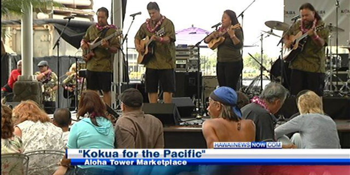 Local entertainers raise money for victims of natural disasters