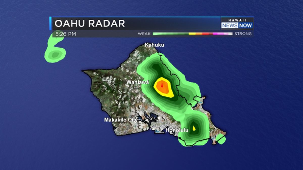 Flood advisory issued for portions of Windward Oahu