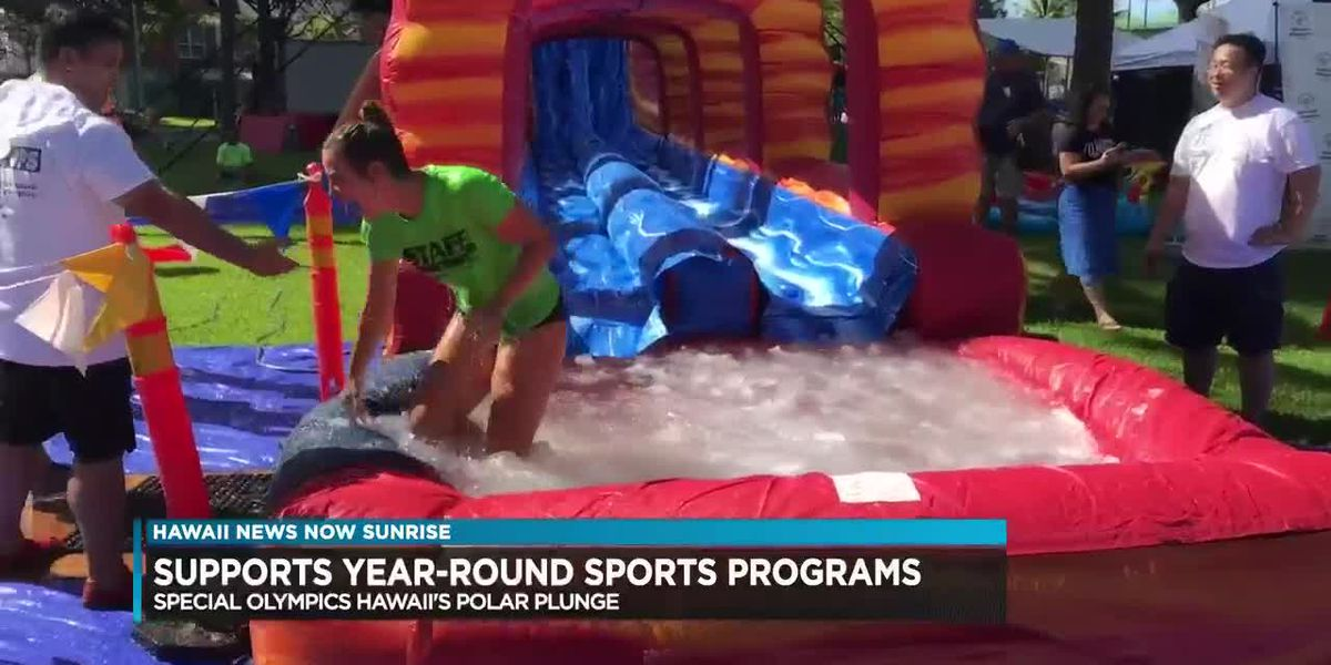 SPECIAL OLYMPICS HAWAII'S 10TH ANNUAL POLAR PLUNGE PUTS SUPPORTERS ON ICE