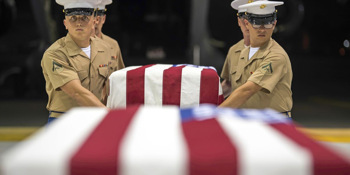US military brings back remains to Hawaii from World War II battle