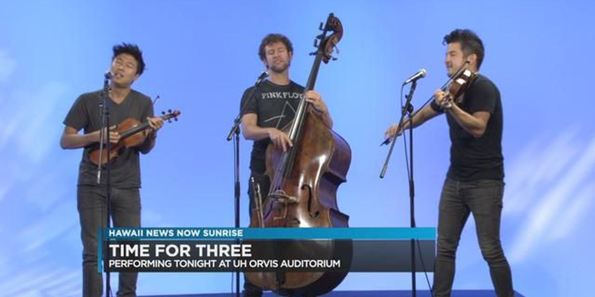 Honolulu Chamber Music Series presents Time For Three