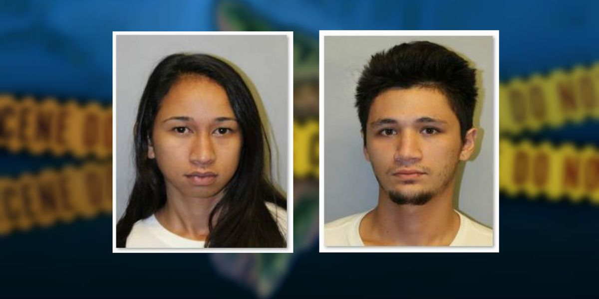 2 arrested in connection with car thefts, drug offenses on Hawaii Island