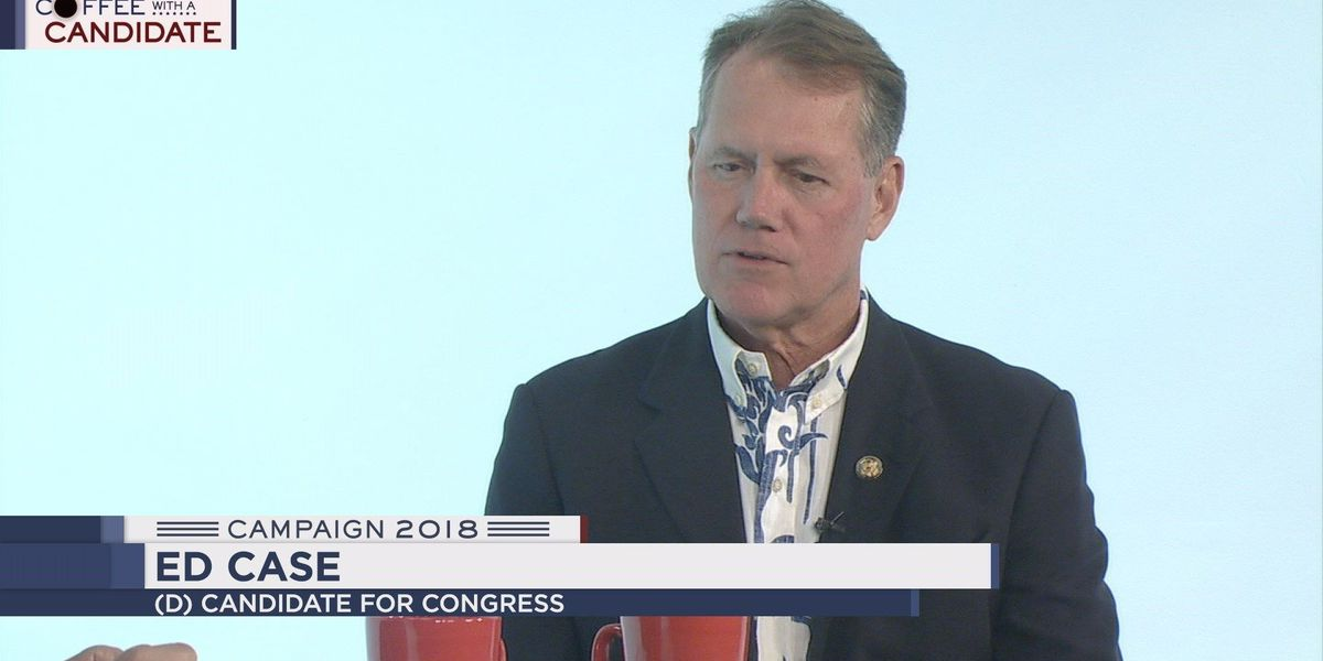 Coffee with a Candidate: Democratic congressional candidate Ed Case