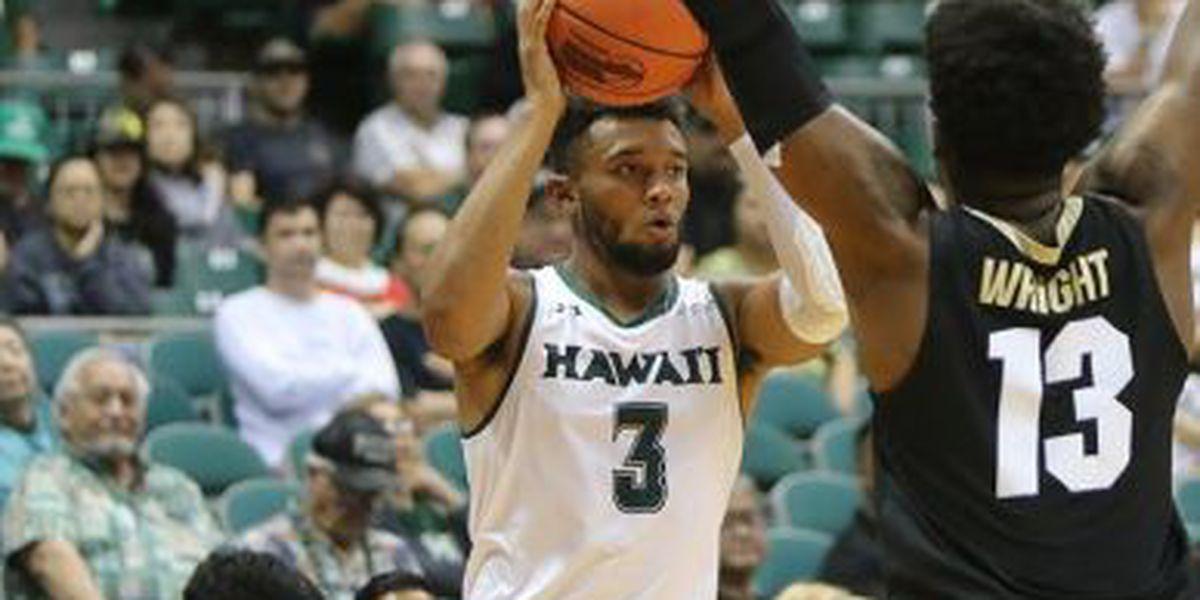 Slow start dooms Hawaii against UC Irvine in 67-56 loss