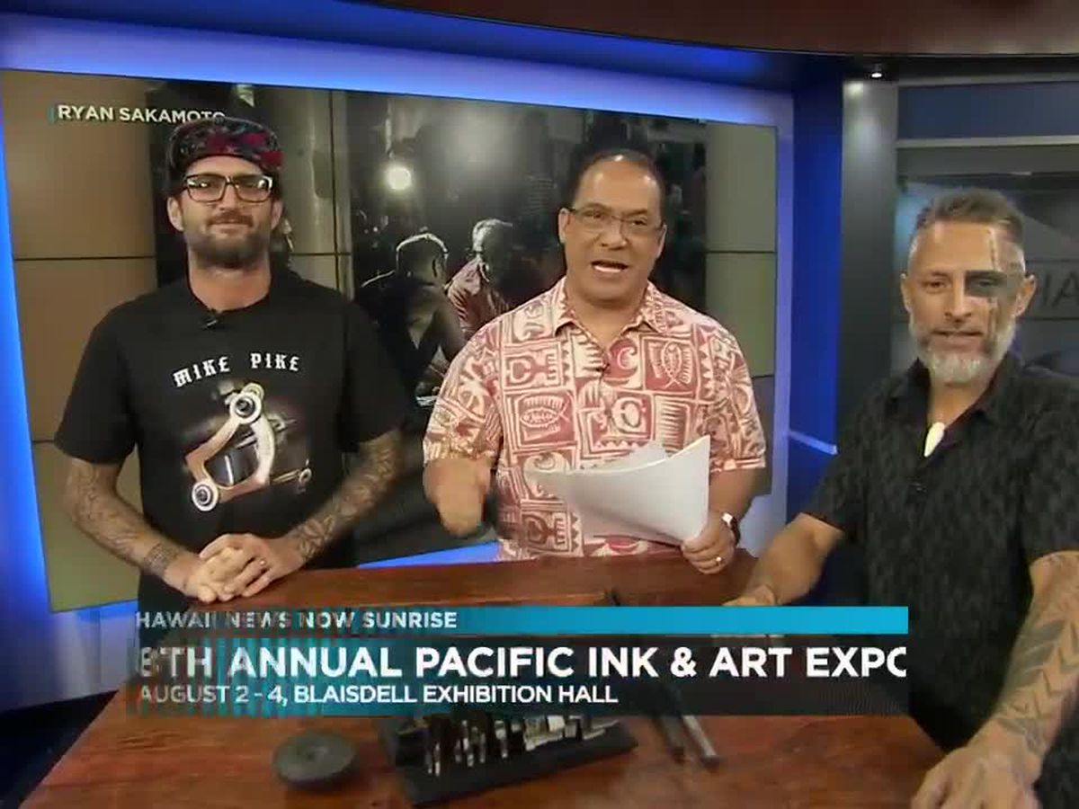 Interview: Kelii Makua & Sean McCready/8th Annual Pacific Ink & Art Expo