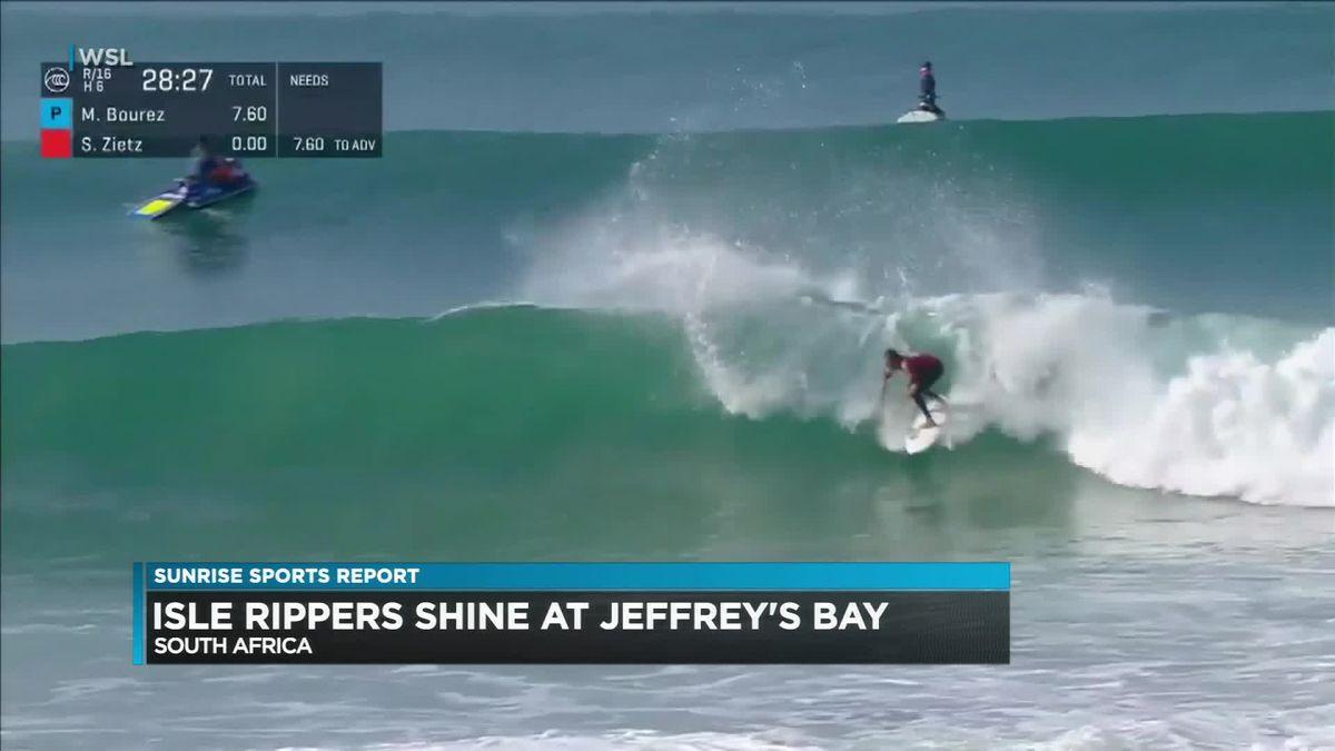 Hawaii surfers making noise at Corona Open J-Bay