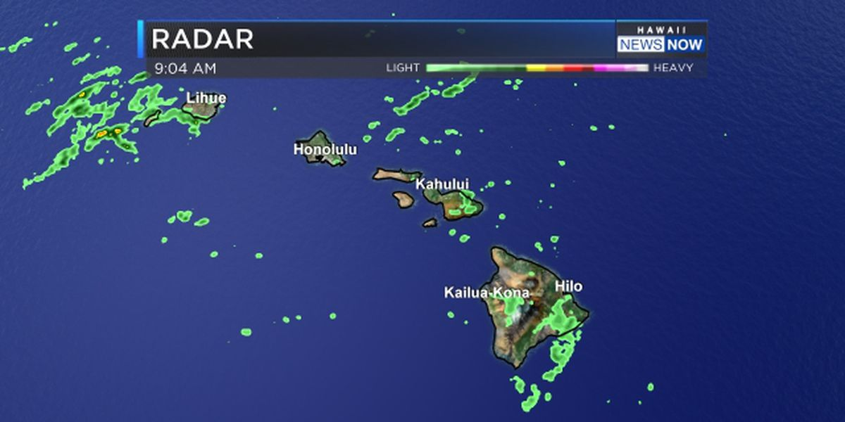Forecast: Stronger trade winds, more windward showers