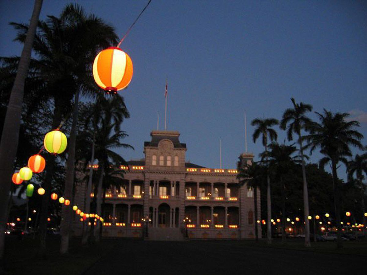 In honor of Queen Kapiolani's birthday, you can soon tour Iolani Palace at night
