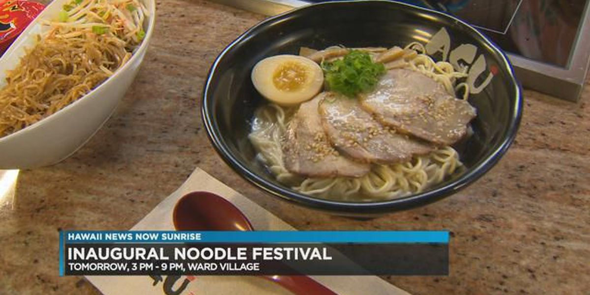 Inaugural Noodle Fest Hawaii to feature dishes from dozens of vendors