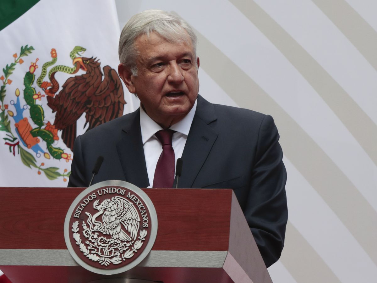 Mexico president heads to Washington for meeting with Trump