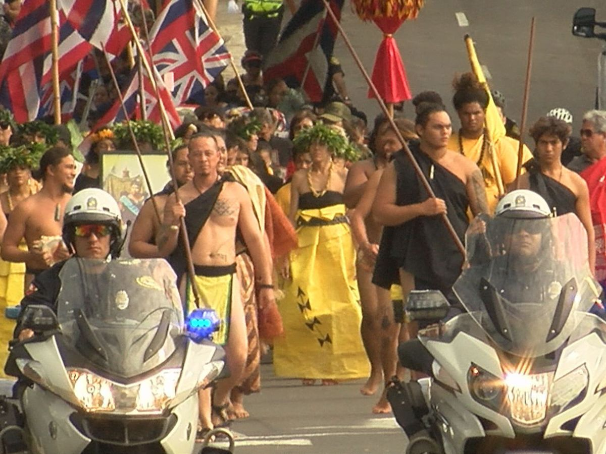 PHOTOS: Hundreds gather to commemorate overthrow of Hawaiian kingdom