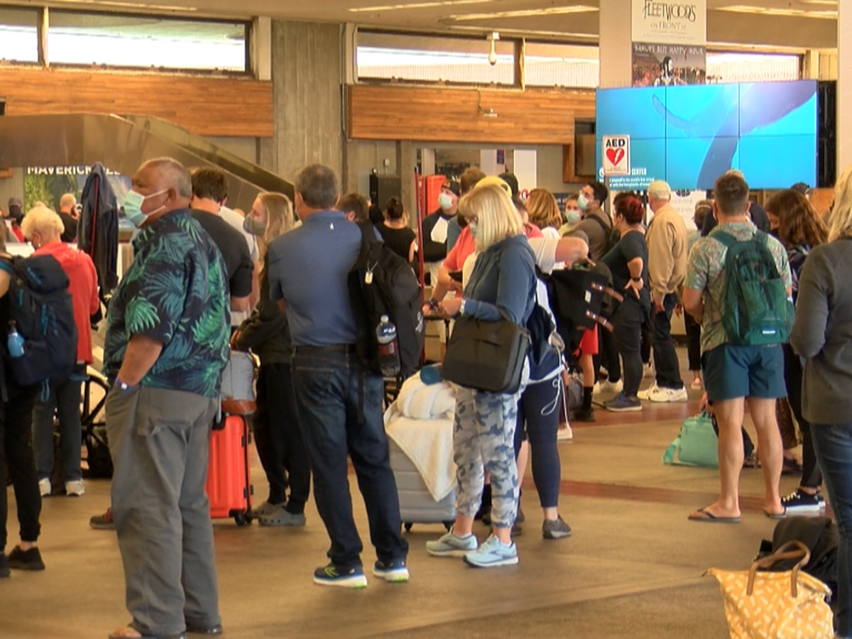 Maui travelers left in limbo over post arrival COVID test eager for details on plan