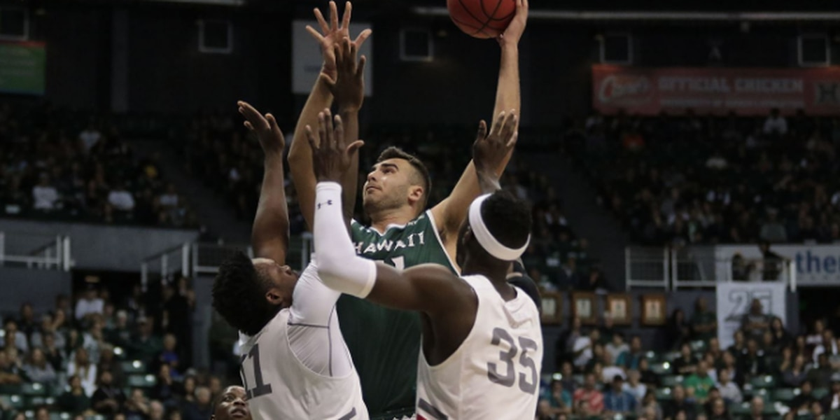 UH hits the road for Big West showdown against UC Santa Barbara