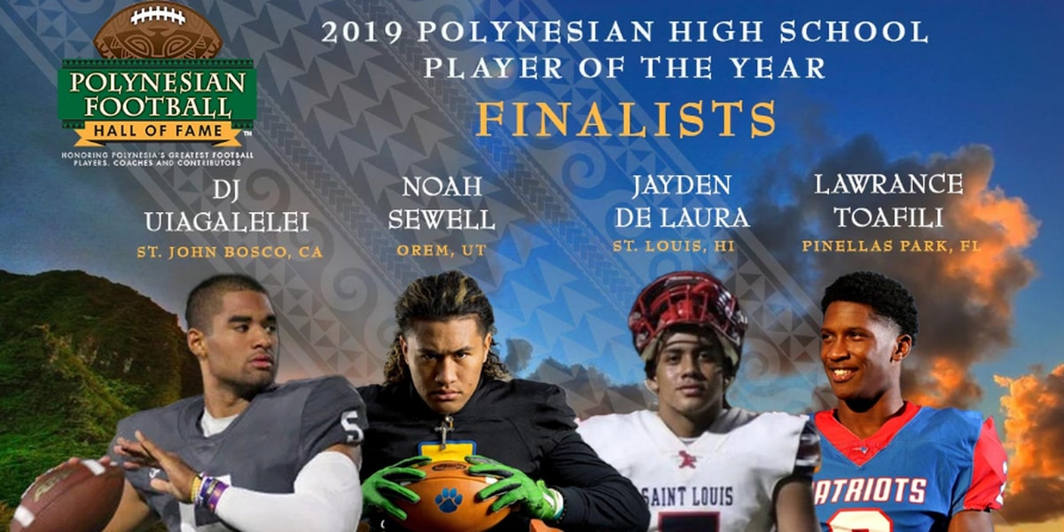 Crusaders Jayden de Laura nominated as 2019 Polynesian High School player of the Year Finalist
