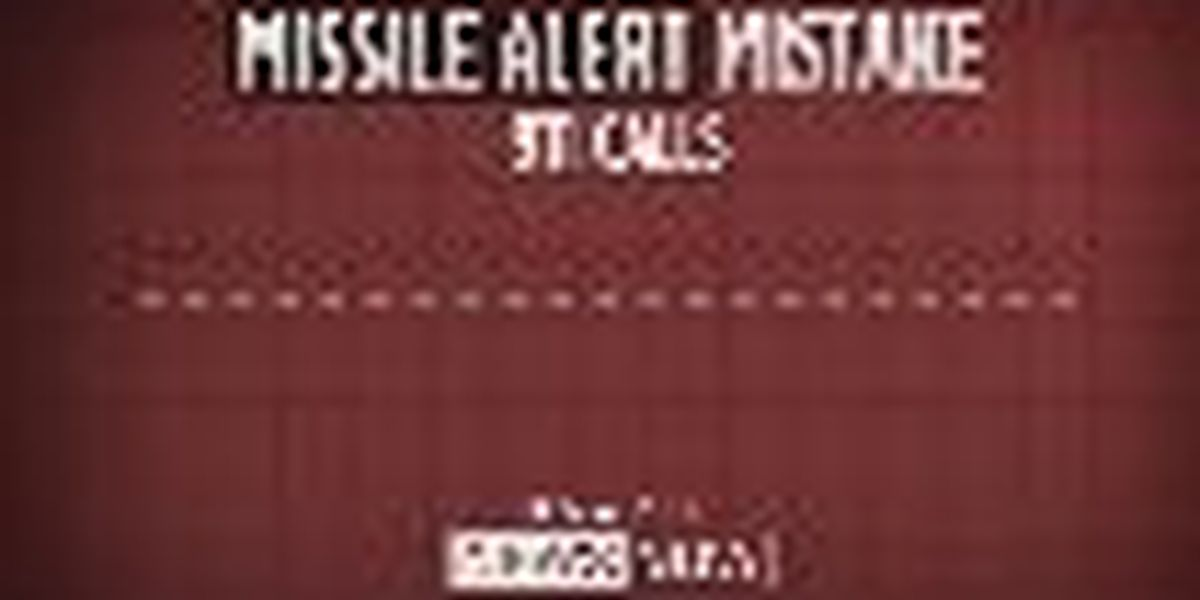 Police release 911 calls recorded during missile alert mistake