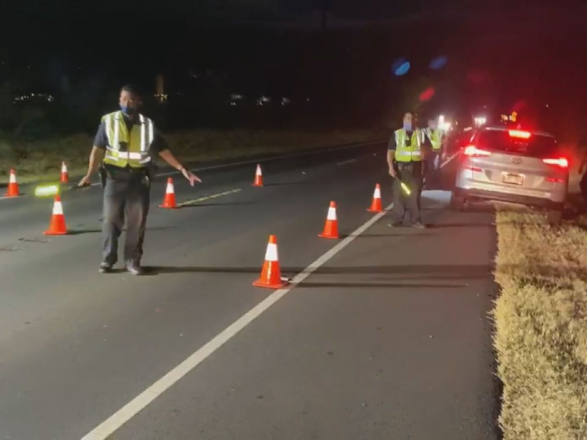 12 arrested on Maui during holiday DUI crackdown, police say