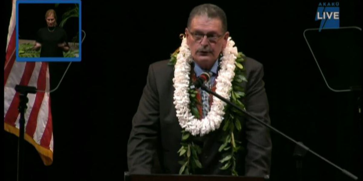 Maui mayor delivers State of the County address, outlining priorities