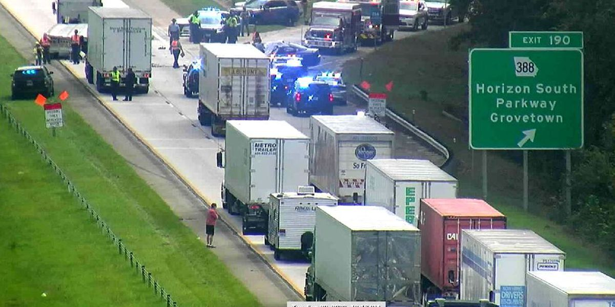 2 Georgia officers killed in Interstate 20 crash