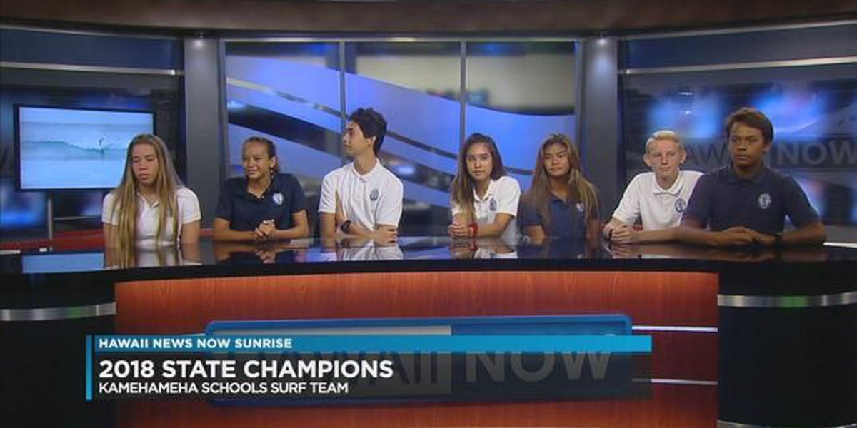 Kamehameha Schools captures HSA Chance 'Em High School Surfing Champions