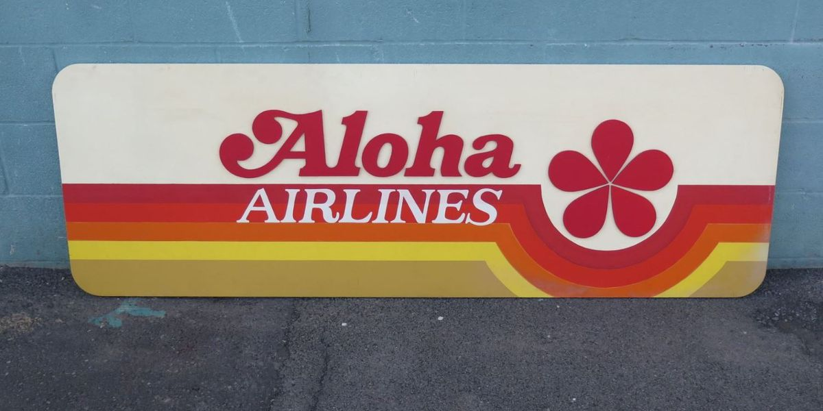 Waiting for a sign? Look no further, vintage Hawaii signs are up for auction