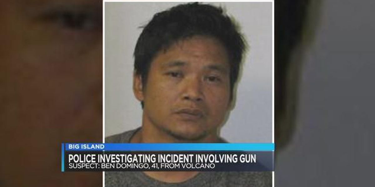Big Island man arrested for allegedly threatening wife with gun