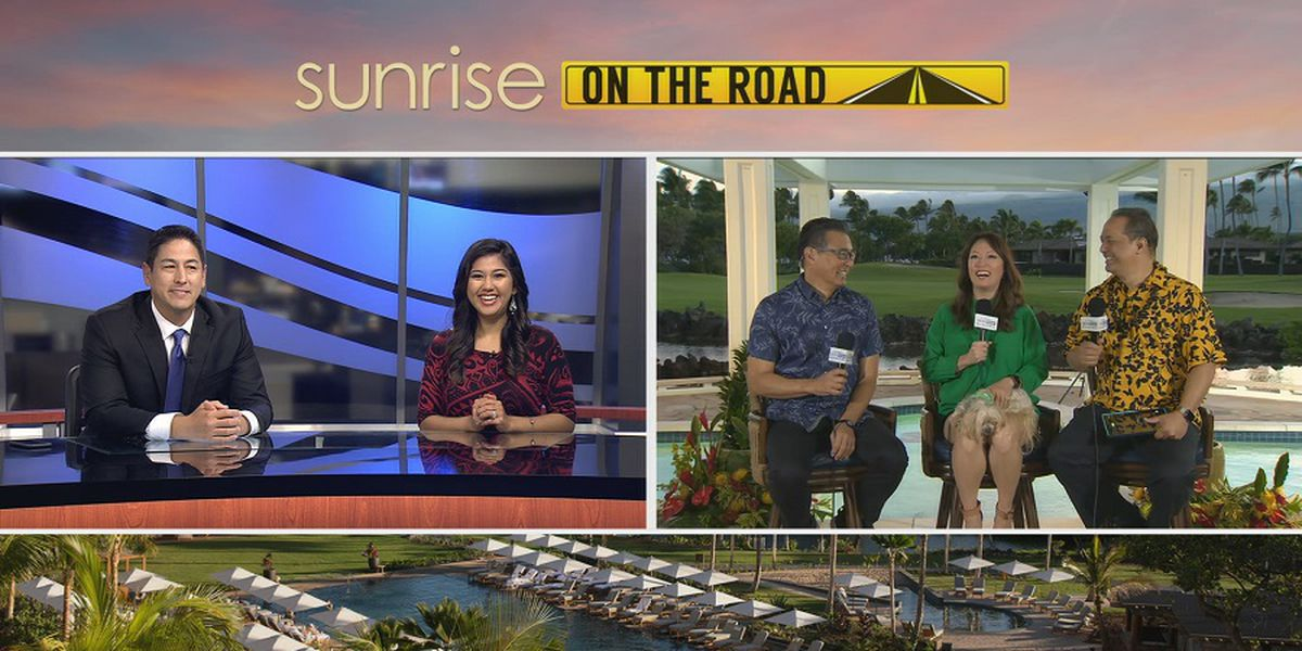 Sunrise 'On the Road': Mauna Lani Resort