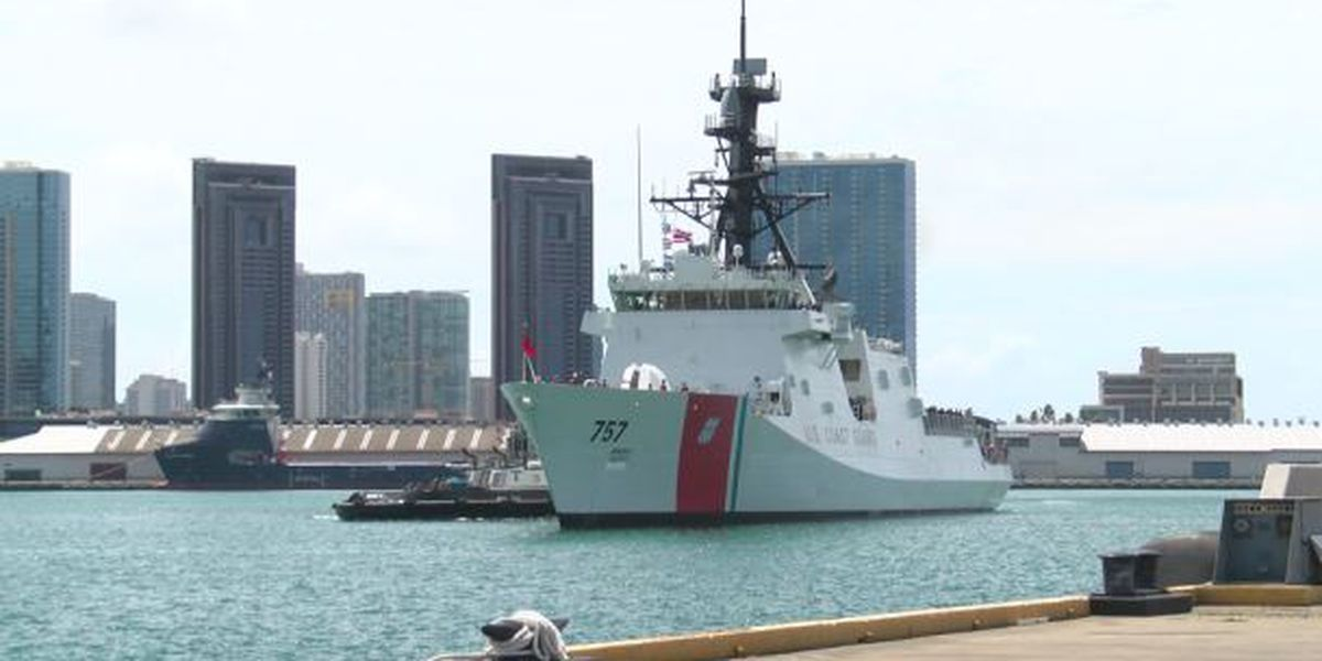 Coast Guard welcomes its newest, state-of-the-art cutter to Hawaii
