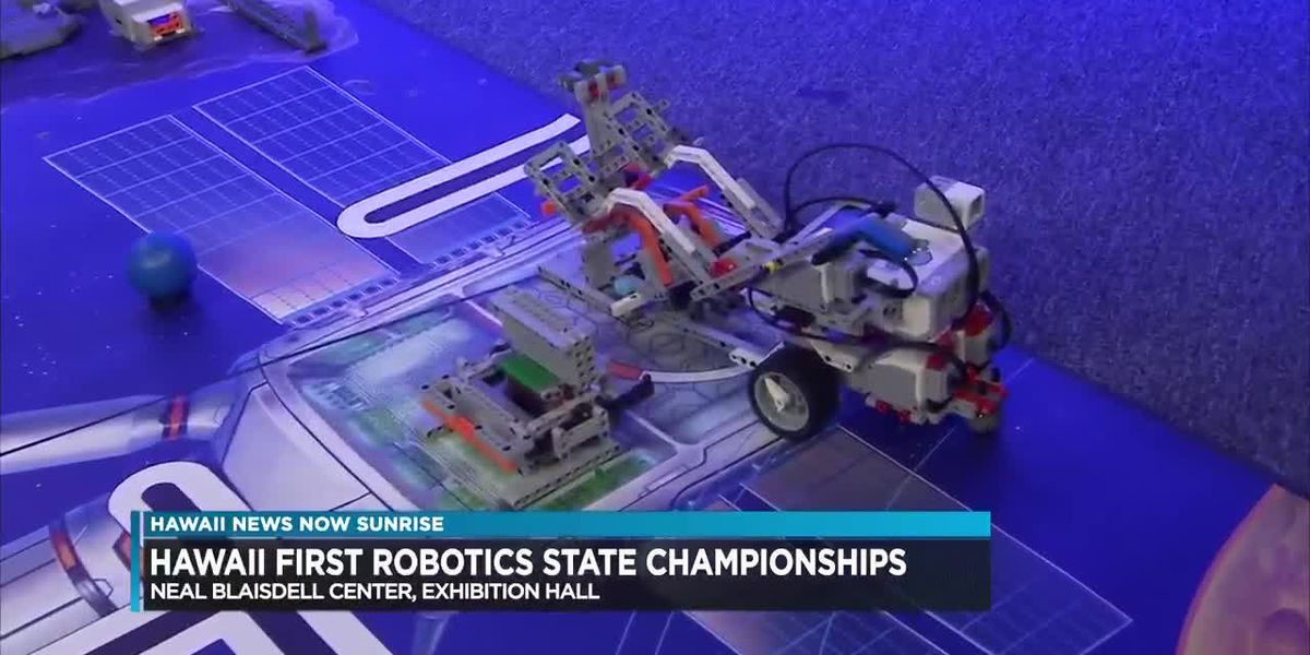 Hawaii First Robotics state tournament winners to represent islands at world championships