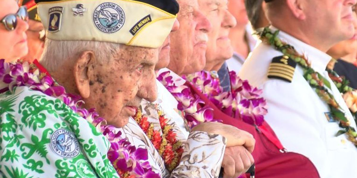 'Heroes all': Survivors mark 76th anniversary of Pearl Harbor attack
