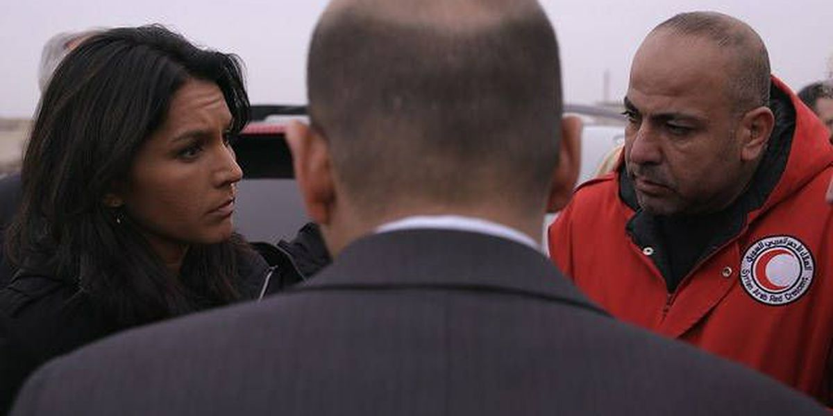 Gabbard met with Syrian president twice on recent trip