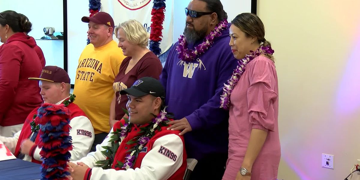 Saint Louis' Tuitele has dream of playing college football turn into reality after signing with Husk