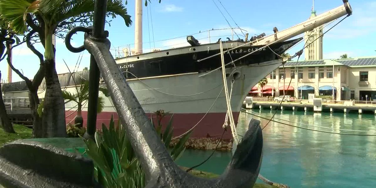140-year-old ship in Honolulu Harbor could be auctioned off after restoration plan falls through