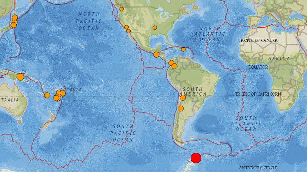 No tsunami threat from distant 7.3-magnitude earthquake