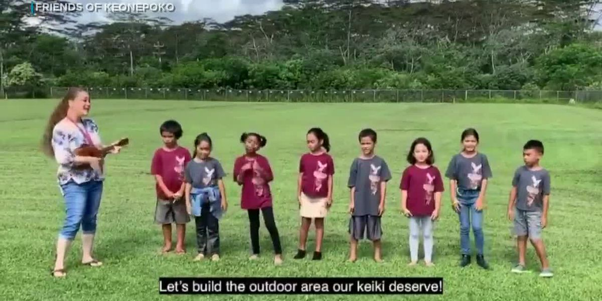 With a catchy tune, kids appeal to community for a place to play at school