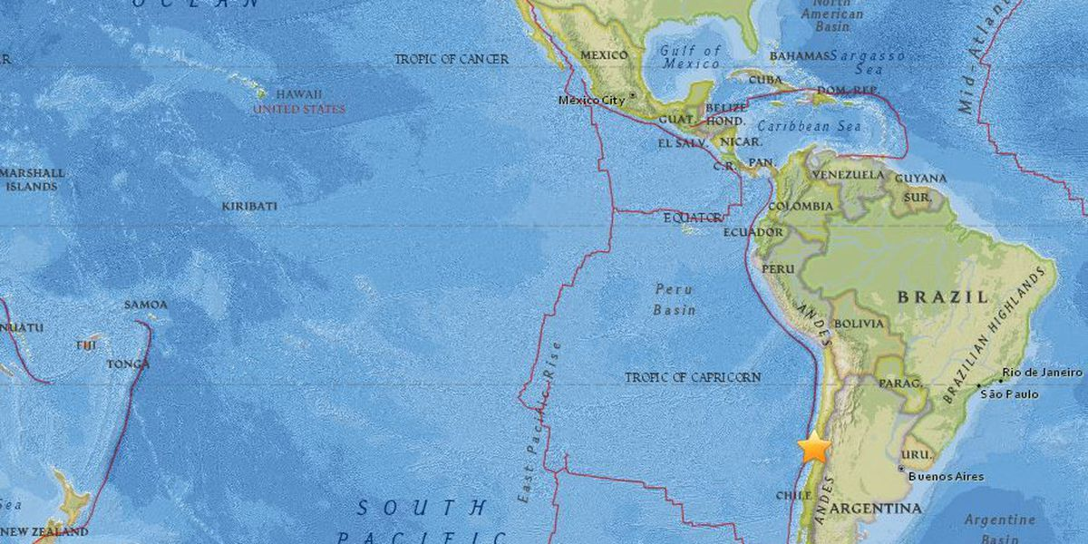 No tsunami threat to Hawaii following 6.5 aftershock quake off Chile