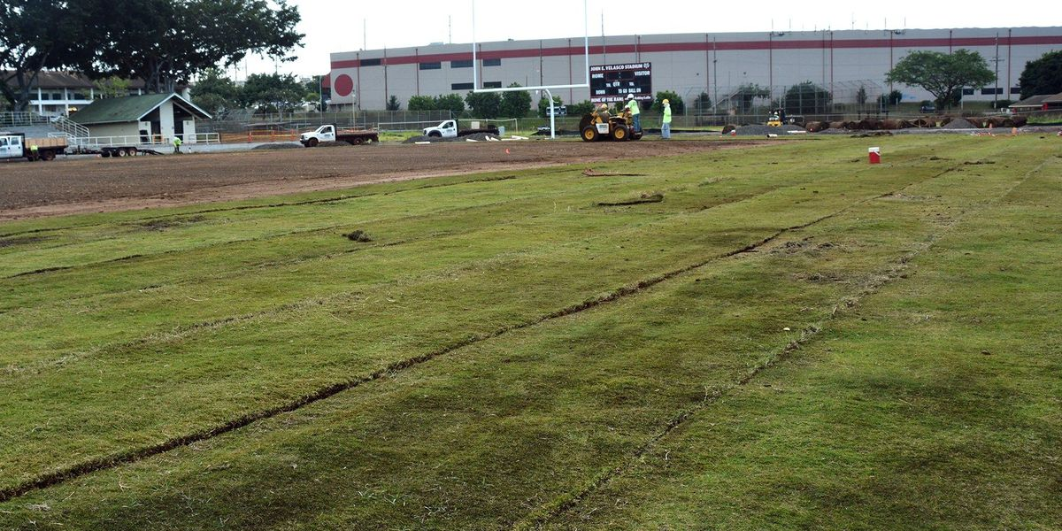 Contamination issues resolved, resodding of Radford football field begins