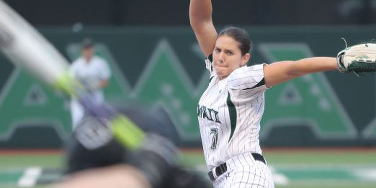 Hitchcock earns 5th career Big West Softball Pitcher of the Week award