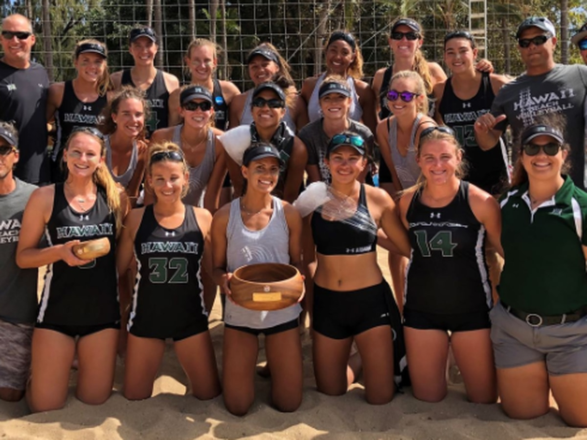Wahine beach volleyball captures Heineken Hawai'i Invitational