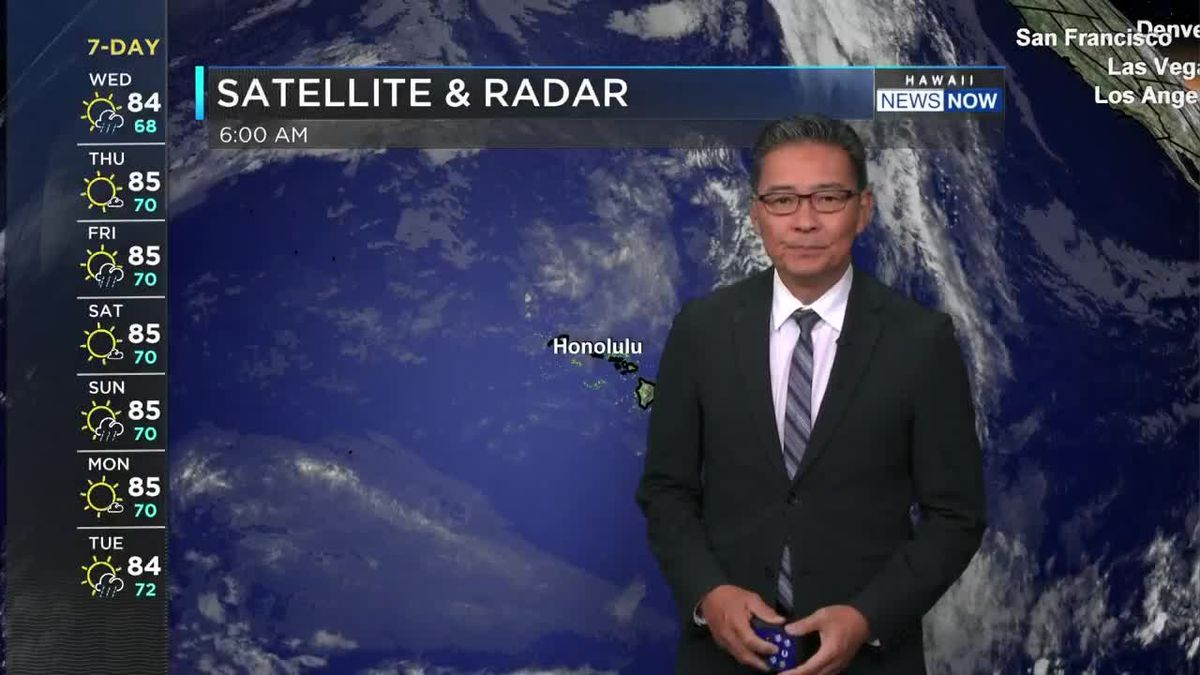 HNN Morning Web Weather Wednesday, April 28, 2021