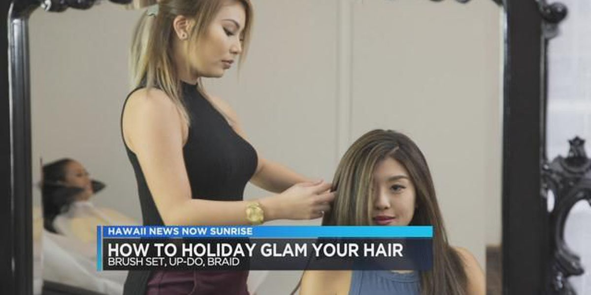 234e149048df How to achieve glam holiday hair