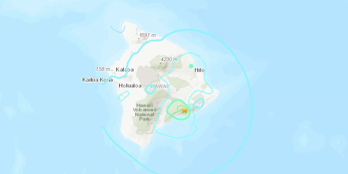 No tsunami threat after 5.5 magnitude earthquake shakes Big Island