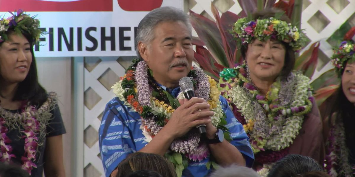 Ige to face Tupola in general election after victory over Hanabusa