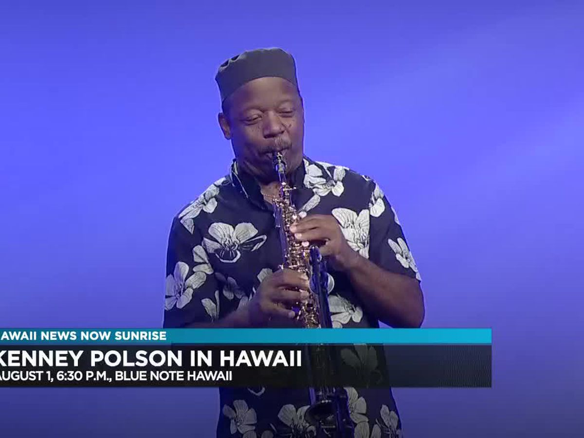 Entertainment: National Smooth Jazz Recording Artist Kenney Polson at Blue Note Hawaii