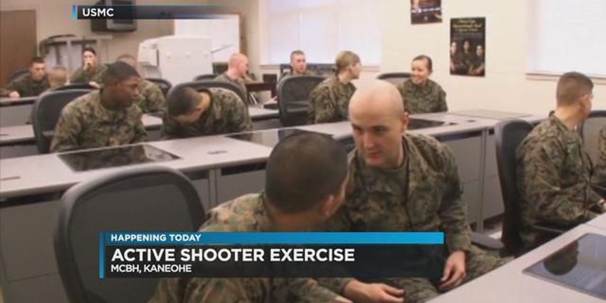 Several agencies to participate in active shooter exercise at MCBH