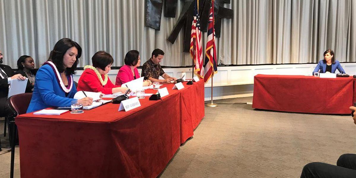Schatz leads hearing in Hawaii to examine missile alert mistake
